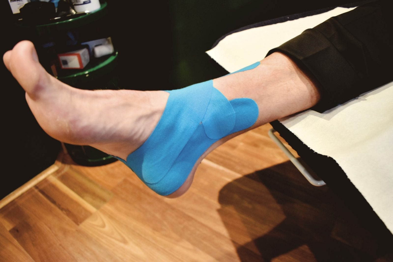 Ankle taping